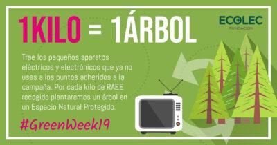 GreenWeek19: Campaña