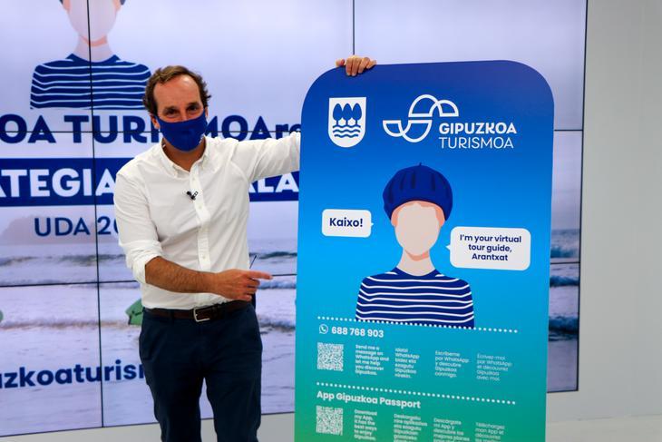 Arantxat, un Whatsapp con información turística sobre Gipuzkoa