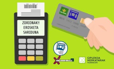 Participa en el sorteo de bonos de 20€ con la Tarjeta Eibar