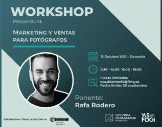 Workshop «Marketing y ventas para fotógrafos»